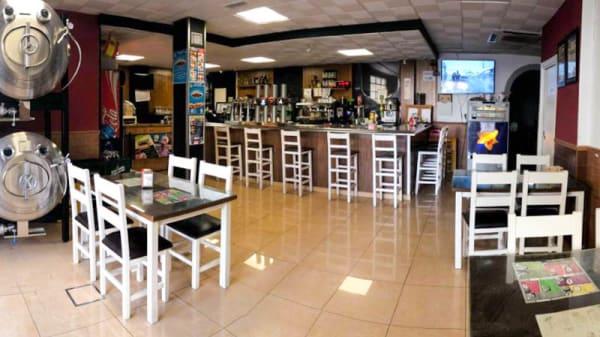 Vista del interior - Bar Pizzeria E Aceituno, Lebrija