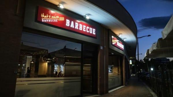 Esterno - That's Amore Barbecue, Rome