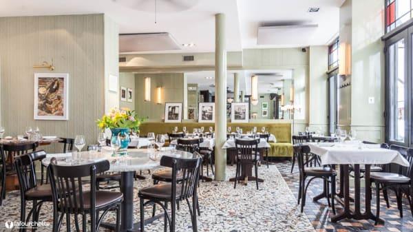 Salon du restaurant - Tondo, Paris