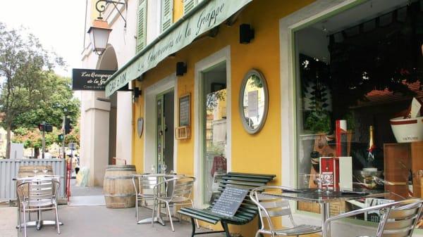 terrasse - Les Compagnons de la Grappe, Nice