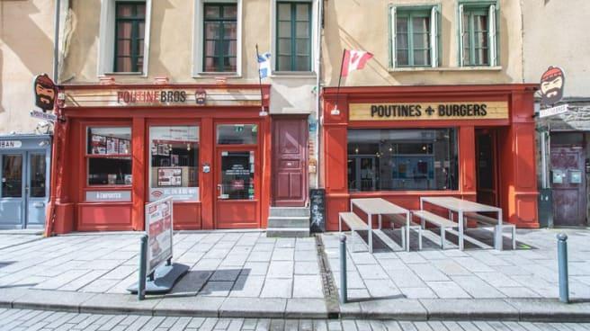 Terrasse - Poutinebros, Rennes