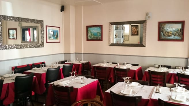 Vue de la Salle - Chef Elias Fares, Paris