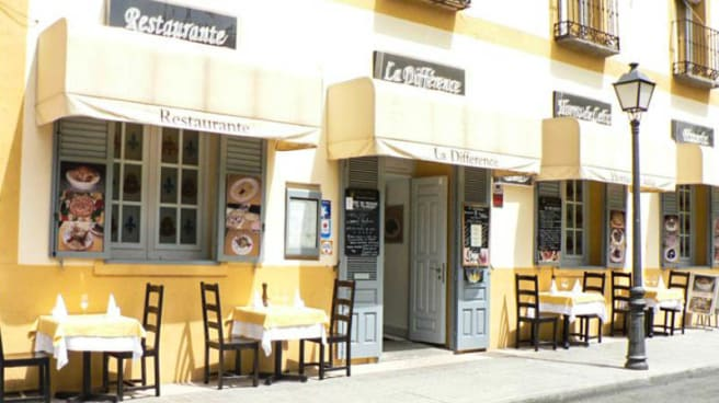 Vista entrada - La Différence, Aranjuez