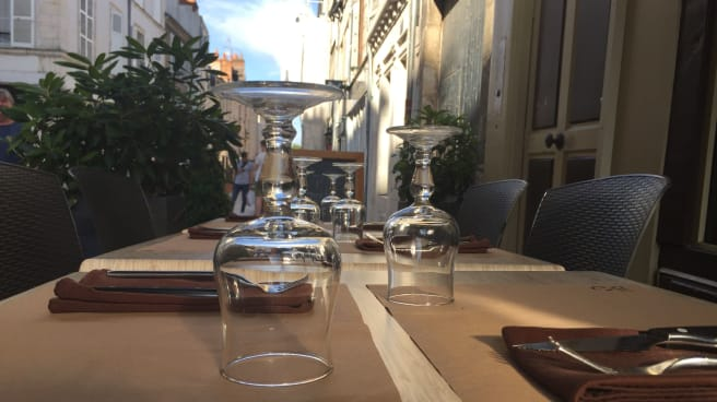 Détail de la table - Le P'tit Gavroche, Orléans