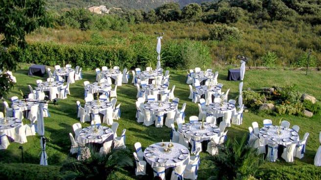 El jardin con comedor - La Hache de Tete, Lozoyuela