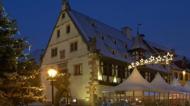 Restaurant - La Halle Aux Blés, Obernai