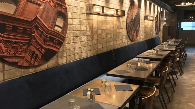 Salle du restaurant - Urfa Durum, Paris