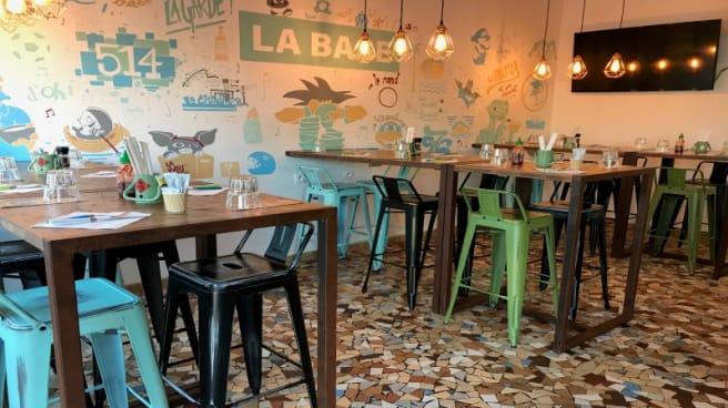 Salle du restaurant - La Base, La Ciotat