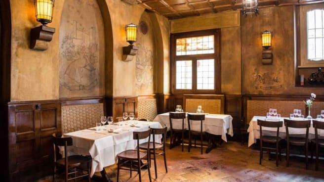 Vista sala - Taverna Moriggi, Milano