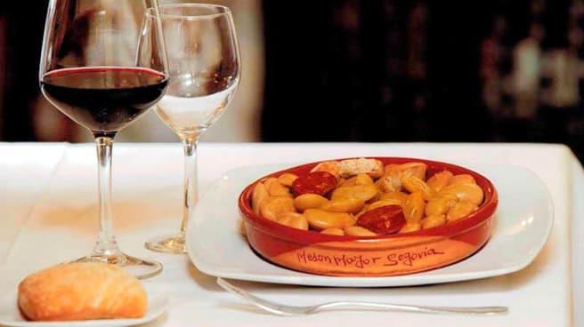 Sugerencia de plato - Mesón Mayor, Segovia