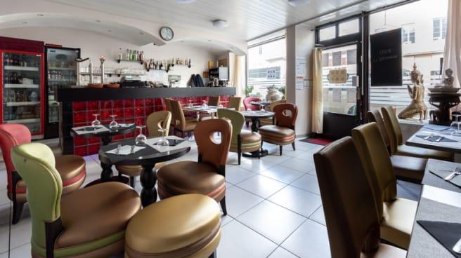 Salle du restaurant - Cafe Colombo, Lyon