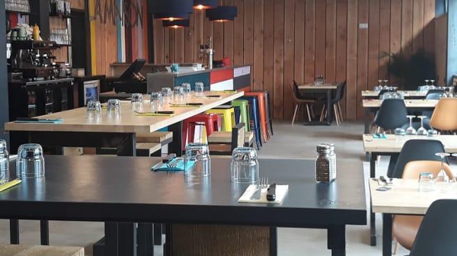 Salle du restaurant - La Maison, Nantes