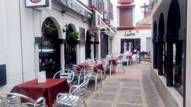 Terraza - Tranvía de Mulas, Sevilla
