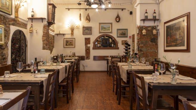 Vue de la salle - Trattoria del Chianti, Florence