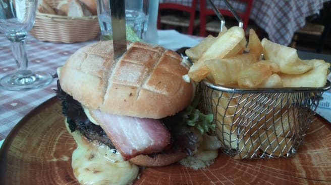 burger - Restaurant À La Ferme, Malbuisson