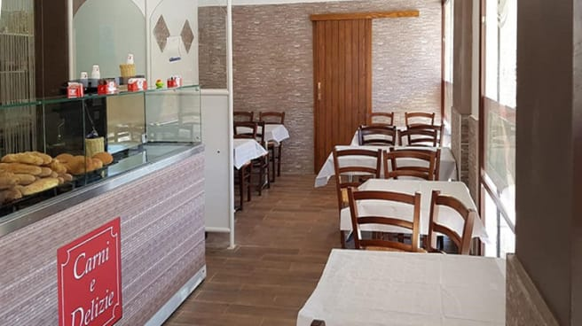 Vista della sala - Carni e Delizie, Trapani