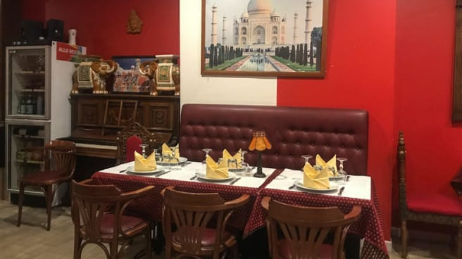 Salle du restaurant - Maharaja, Troyes