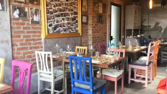 Vista sala - Zotto Restaurante Argentino, Milan