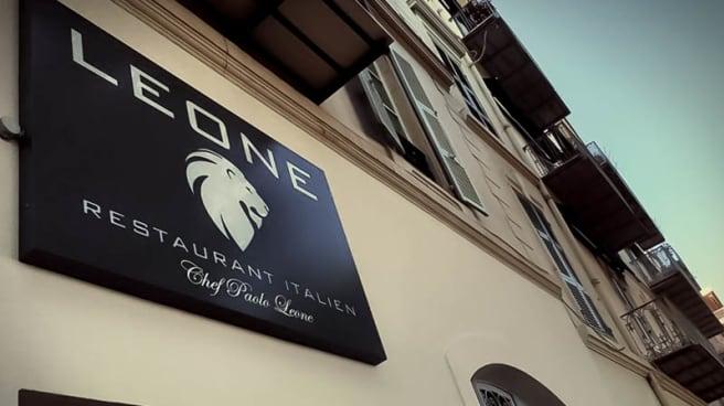 Façade du restaurant - Leone, Menton