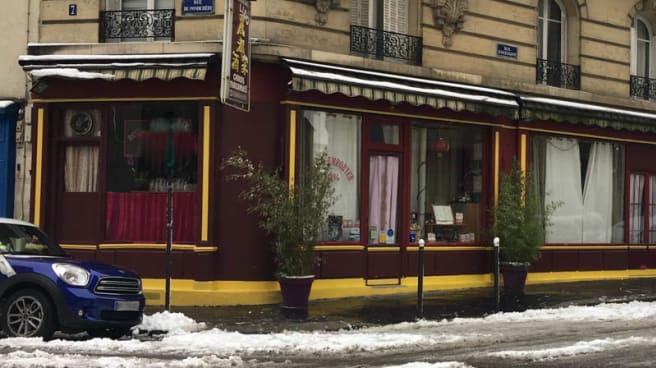 Devanture - Lido, Paris
