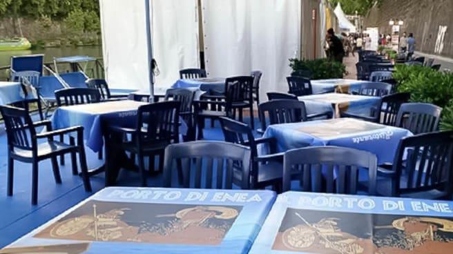 terrazza - Porto di Enea al Tevere, Roma