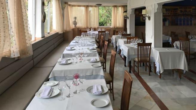 Sala del restaurante - A Fogo, Estepona