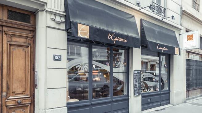 façade - L'Épicerie Comptoir - Les Brotteaux, Lyon