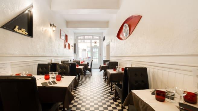 Salon du restaurant - Le Rouge et le Noir, Caluire-et-Cuire