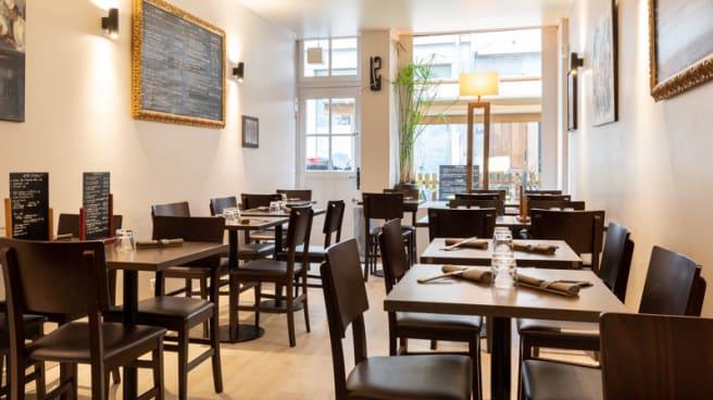 Salle du restaurant - Le Poivron Bleu, Lyon