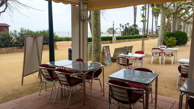 Vista terraza - Café del Mar, Blanes
