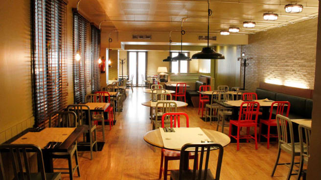 Vista sala - New York Burger - Recoletos, Madrid