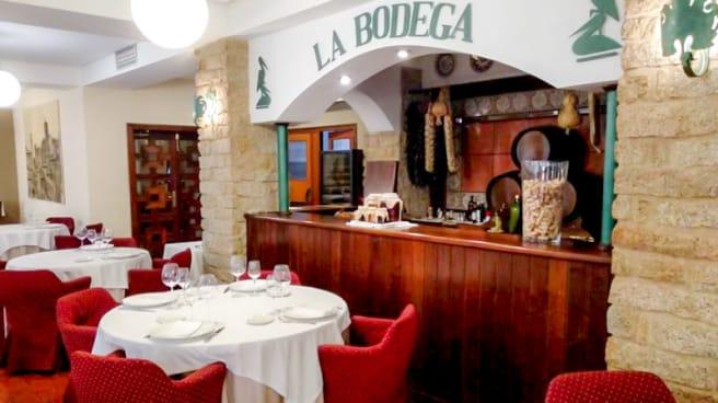 Vista del interior - La Bodega (Hotel Las Cigüeñas), Trujillo