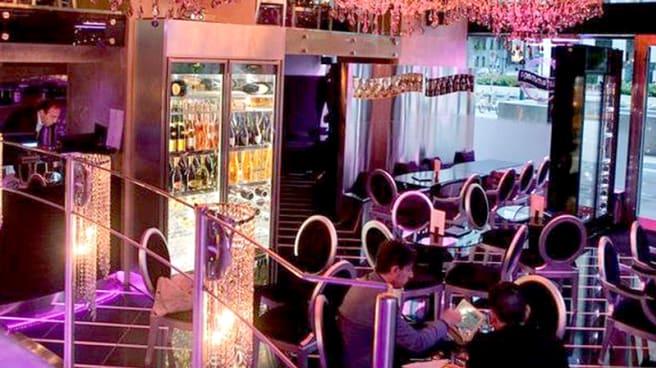 Vista sala - La Champagnerie, Milan