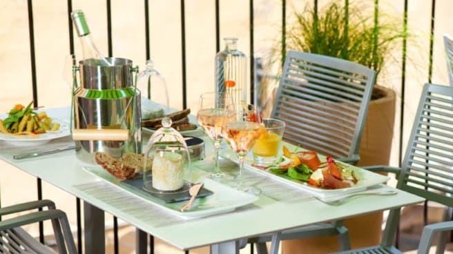 Déjeuner sur le Toit Terrasse - La Fromagerie du Passage, Aix-en-Provence