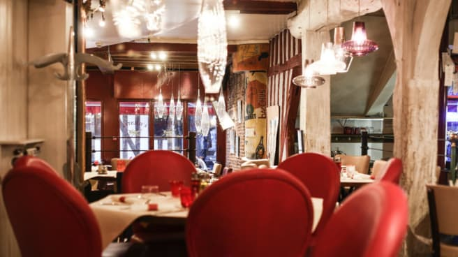 Salle du restaurant - L'Illustré, Troyes