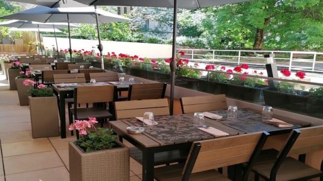 Terrasse - Le Duo - Thai & Sushi, Lausanne