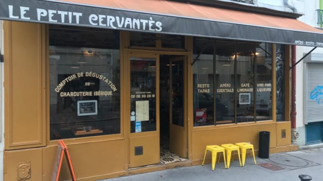 Entrée - Le Petit Cervantès, Paris