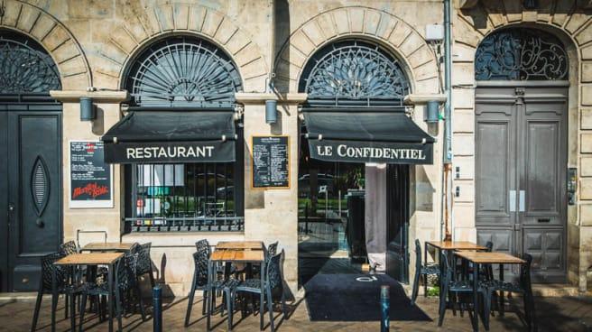 Devanture - Le Confidentiel Bordeaux, Bordeaux
