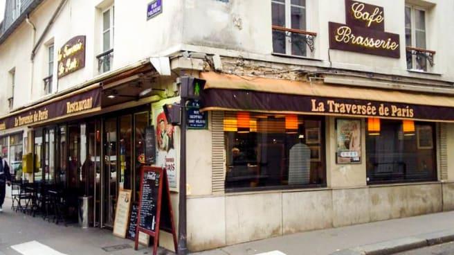 Entrée - La traversée de Paris, Paris
