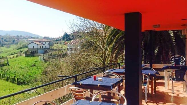 Vista ee la terraza - La Jontoya