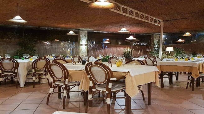 Vista sala - Trattoria Toscana La No'