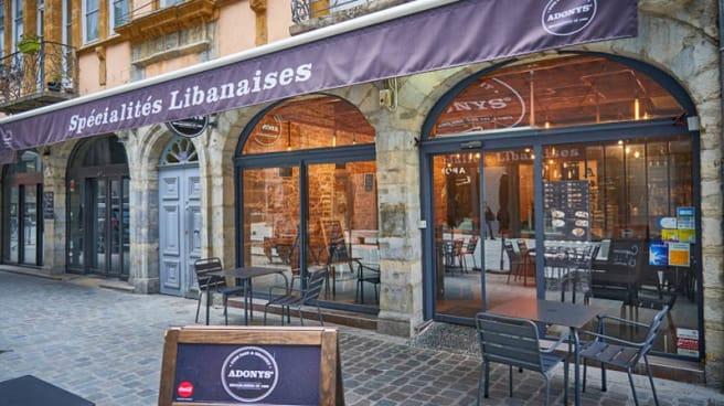 Entrée - Adonys, Lyon