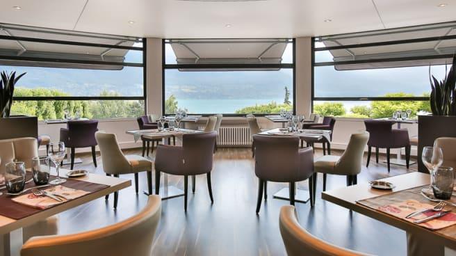 Salle du restaurant - Beauregard / Restaurant La Boussole, Annecy