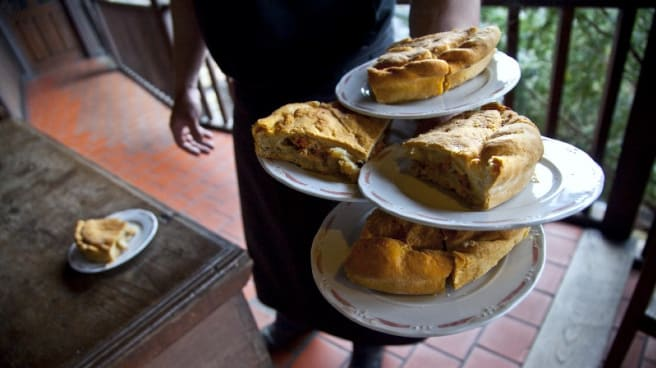 plato - La Moncloa de San Lázaro