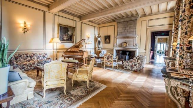 Salon XVIIème siècle - Hôtel Château de Noirieux - Château de Noirieux