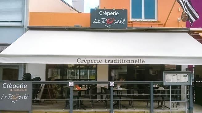 Devanture - Créperie le Rozell, Saint-Brevin-les-Pins