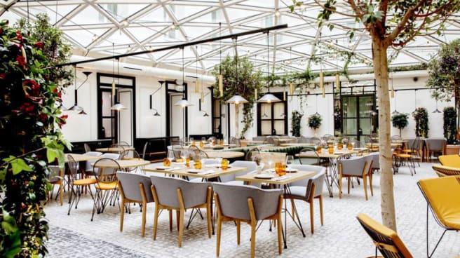 Vista del interior - El Cafe de la Plaza, Madrid