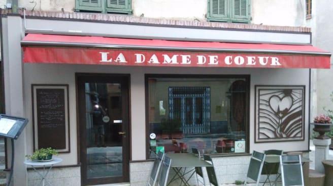 Devanture - La Dame de Coeur, Saint-Martin-Vésubie