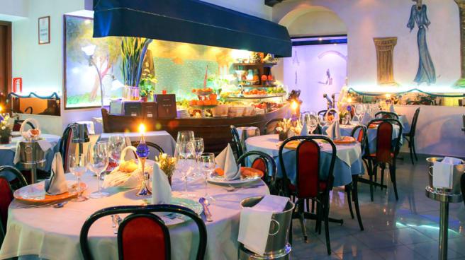 Sala del ristorante - Montecristo, Milano