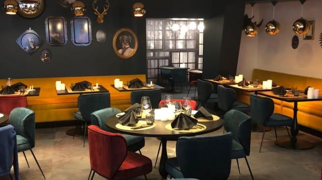 Salle du restaurant - LA CASCADE INSOLITE